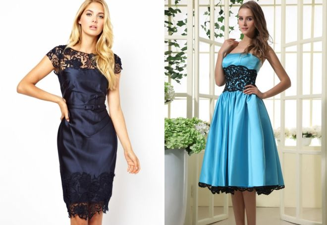 5c2ee9b72f0 Красивое атласное платье – длинное в пол и короткое