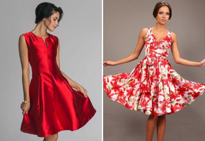 красивые платья из атласа