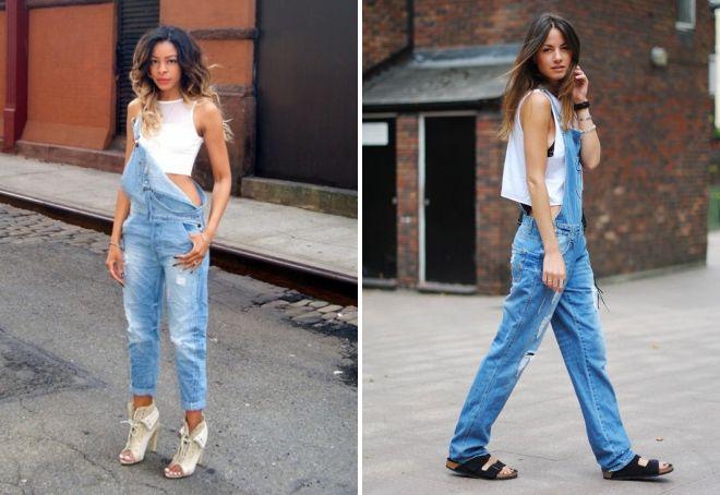 джинсовые комбинезоны 2017