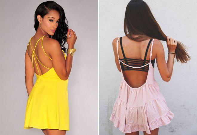 437b777146a Модное платье на бретелях – длинное в пол и короткое