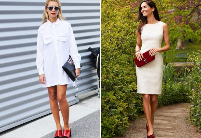 белое летнее платье 2018