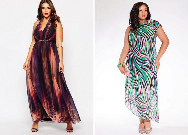 модные длинные летние платья 2018