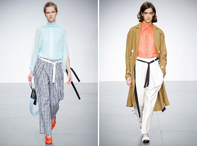 модный цвет брюк лето 2018