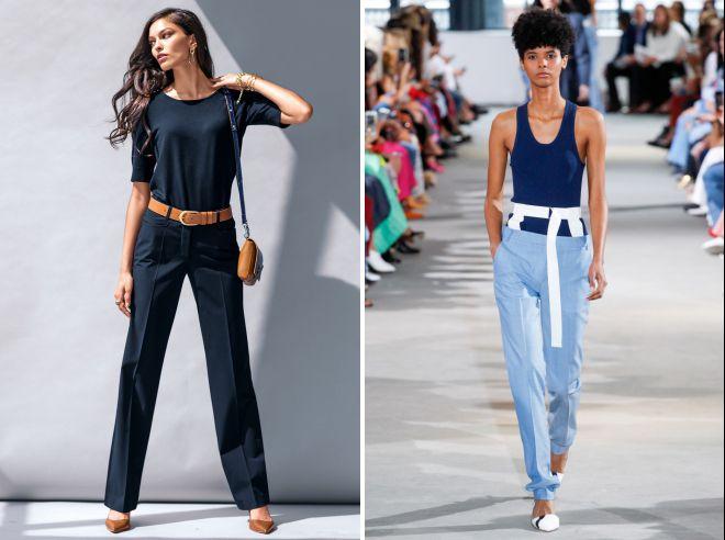 модные женские брюки лето 2018