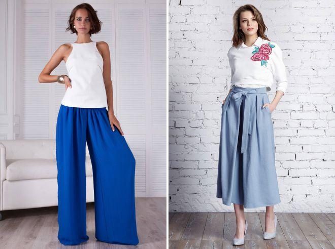 юбка брюки лето 2018