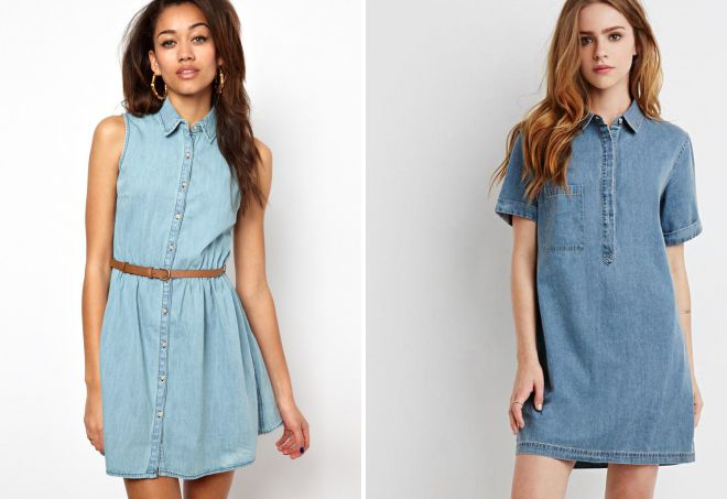 f347bcc3fbe Летние джинсовые платья – стильное