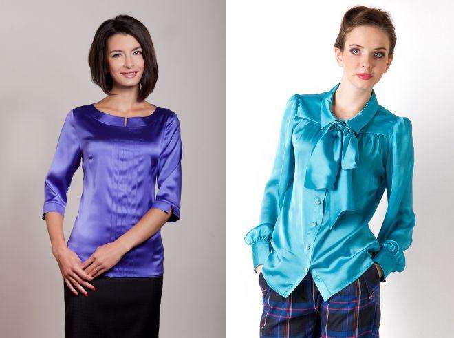 Натуральный шелк – правила модного выбора одежды и белья, и как отличить от искусственного