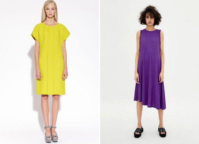 eb0fb4567 Модные свободные летние платья – фасоны, короткие, длинные, миди ...