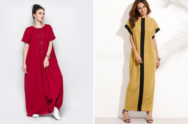 84de16eeeec Модные свободные летние платья – фасоны