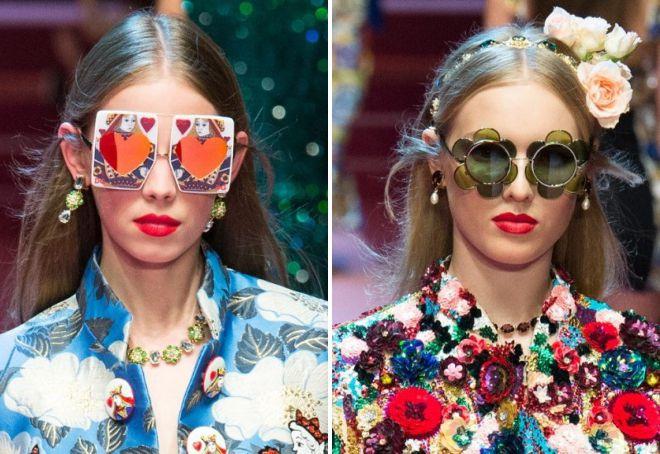 очки дольче габбана 2018 женская коллекция