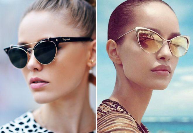 женские брендовые солнечные очки 2018 коллекции