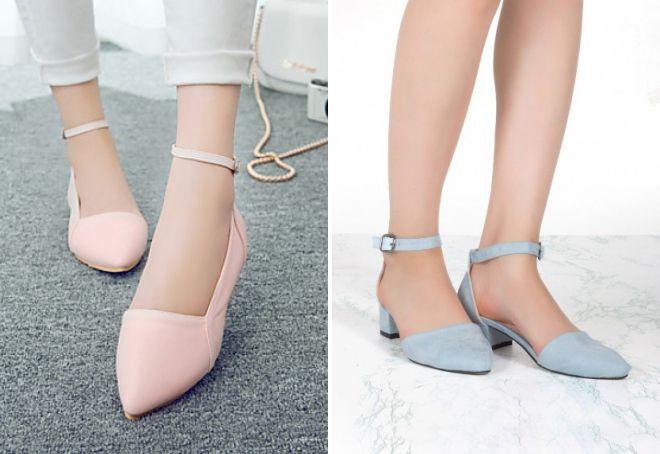 модные летние туфли 2018