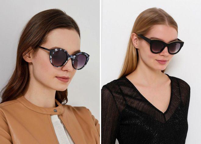какие женские очки в моде 2018