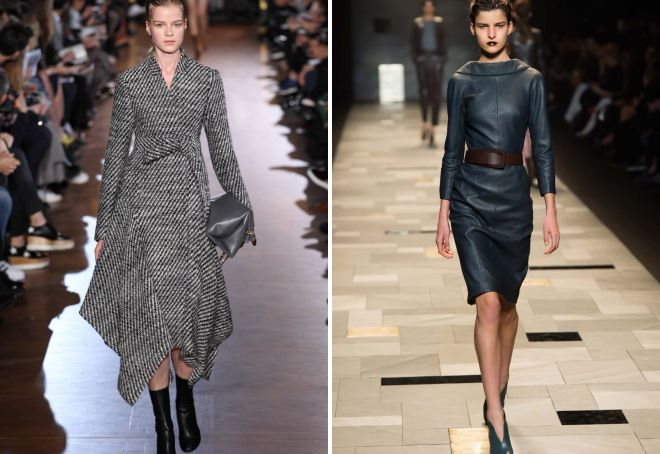 Модные тенденции осень-зима 2017-2018 – цвета, пальто, пуховики ... bb064c4702c