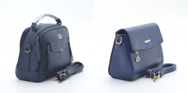 синяя сумка мега клатч
