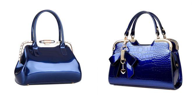 женские сумки синего цвета