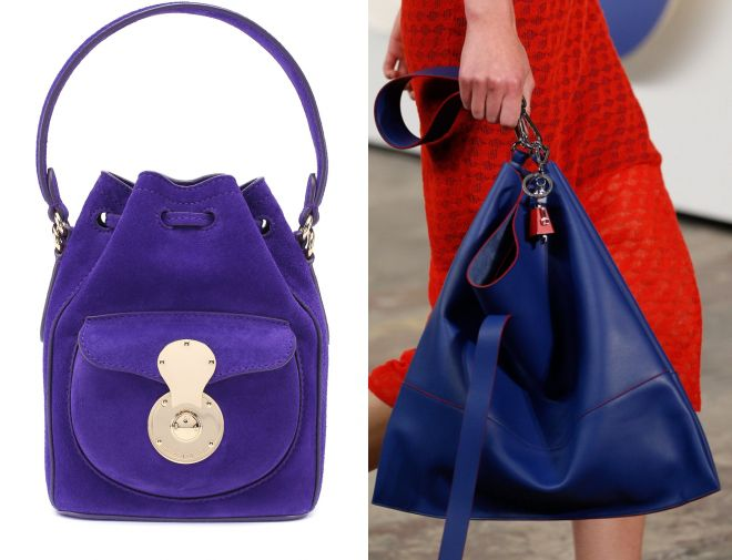 синяя сумка мешок 2017