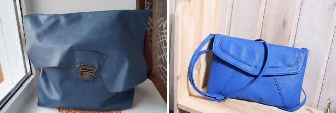 сумка синего цвета 2017 года