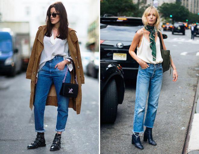 джинсы осень зима 2018