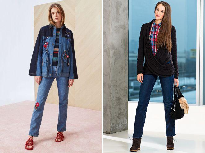 классические джинсы осень 2018