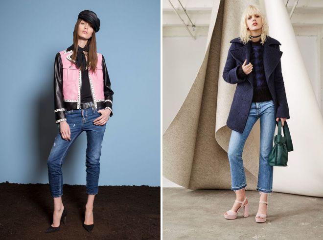 модные джинсы осень зима 2018 2019