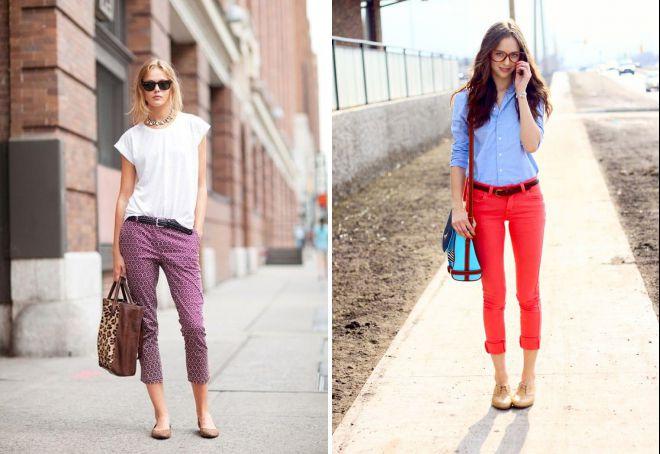 как носить короткие брюки