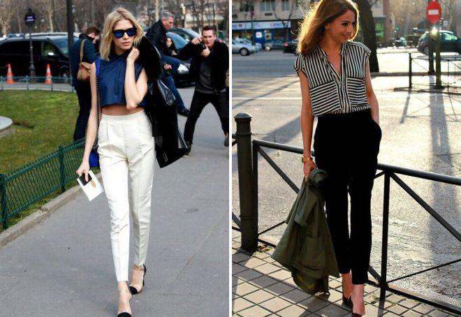 мода на короткие брюки