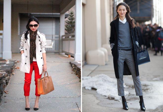 с чем носить короткие брюки весной и осенью