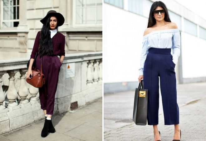 женские короткие брюки