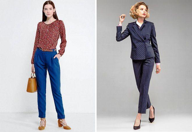 классические брюки осень 2018