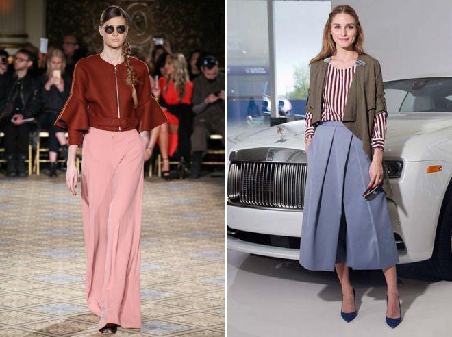 модные женские брюки осень 2018