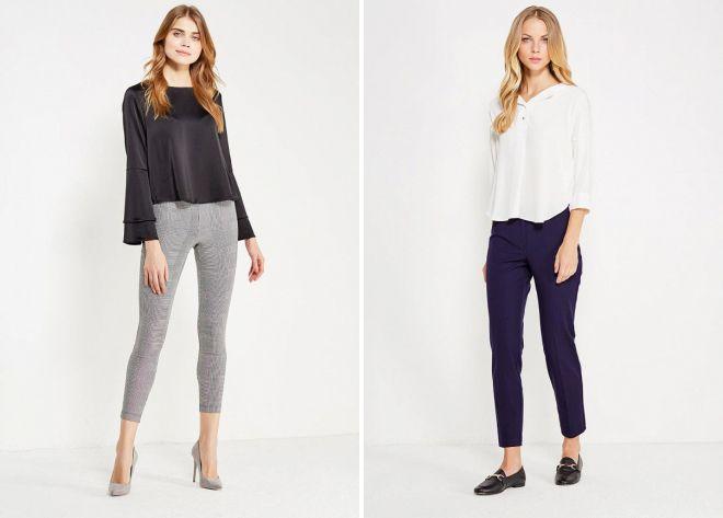 женские брюки осень 2018 года модные тенденции