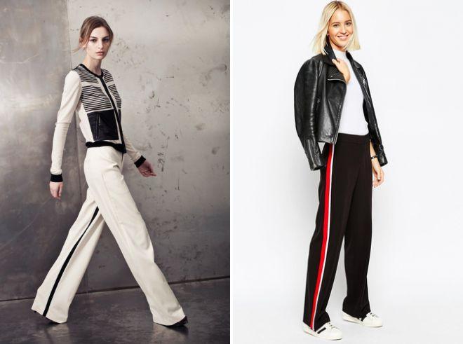трикотажные брюки осень 2018