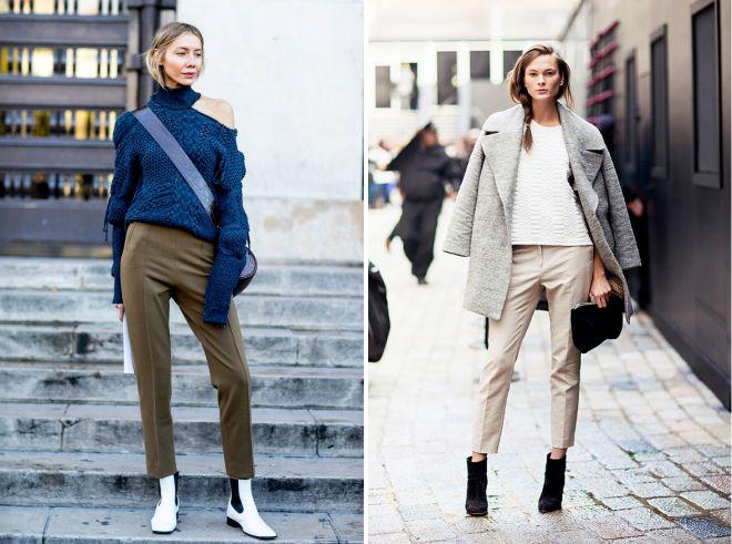 стильные осенние брюки 2018