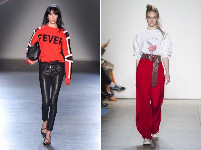 осенние женские брюки 2018 тренды