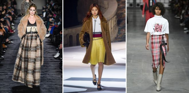 тренд осени 2018 в одежде