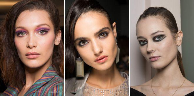 тренды в макияже осень 2019