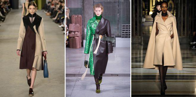 тренды осень зима 2018 2019 верхняя одежда