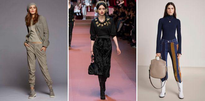 модные образы осень 2018 тренды