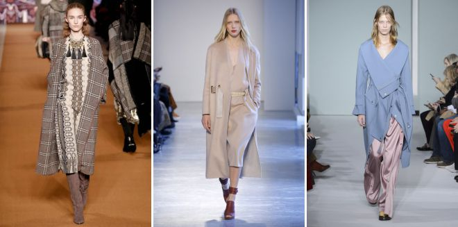 осенние тренды в одежде 2018