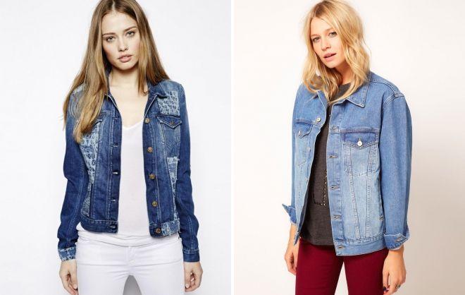 модные джинсовые пиджаки 2018 2019