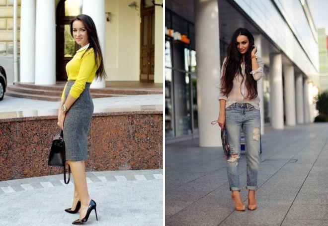 лакированные туфли модные образы