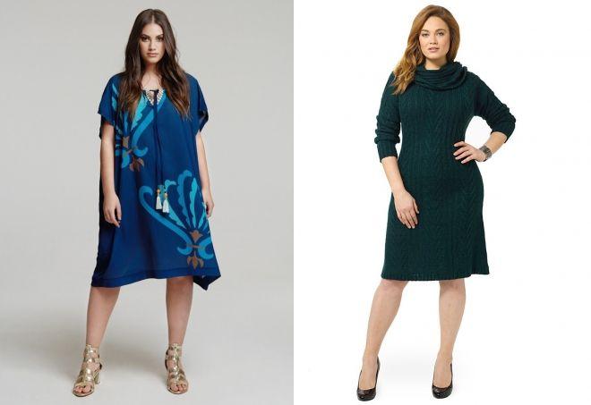 cf585ceb536870e Стильные платья для полных женщин – фасоны, цвета, длинные, короткие ...