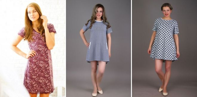 14d44b1fce84a9d Домашние платья для женщин – шелковое, велюровое, трикотажное ...