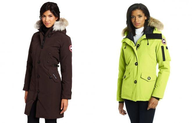 женские куртки парки канада гус