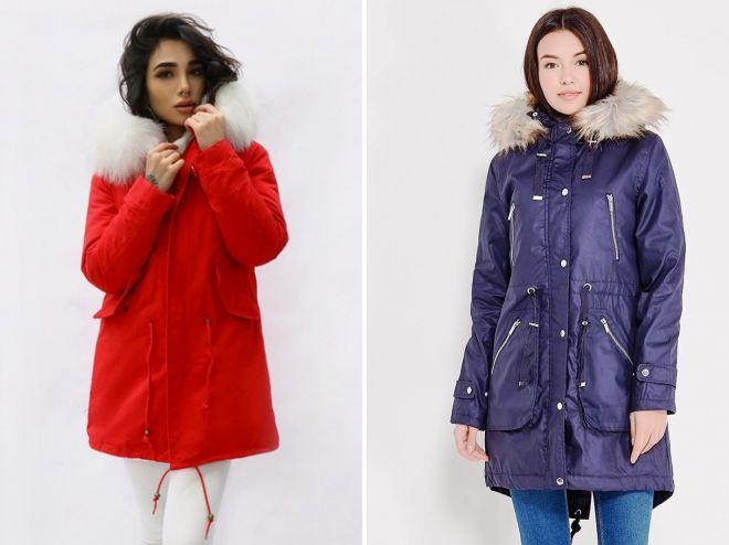 женские куртки парки 2018 2019