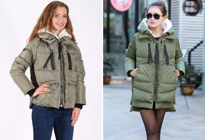 женская куртка парка трансформер