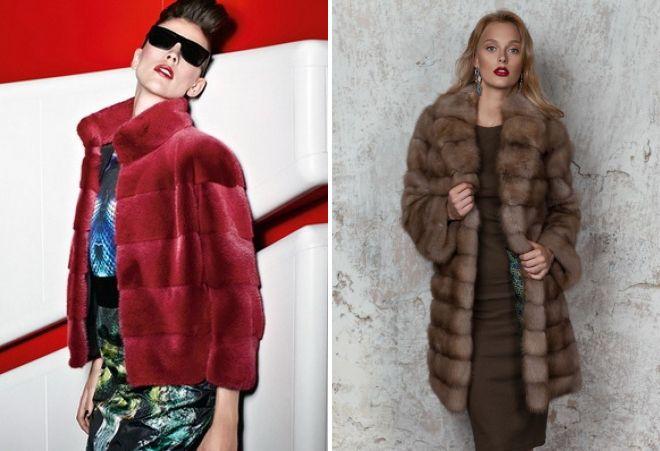 модные модели шуб 2018