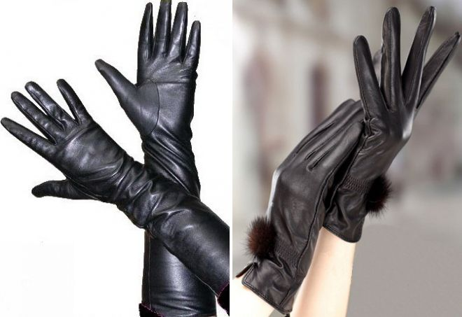 плюсы и минусы кожаных перчаток