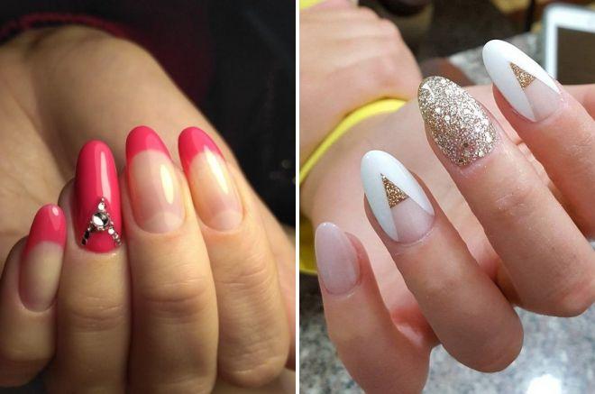 маникюр 2019 на круглые ногти